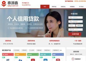 贷款公司网站优化